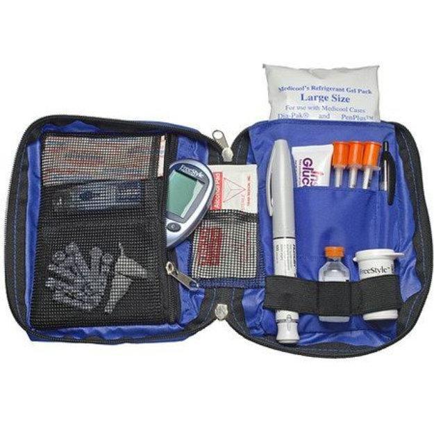 Medicool Dia-pak Classic Diabetic Supply Organizer