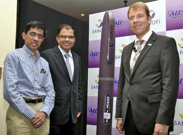 Sanofi Launches Re-usable Insulin Pen Priced Rs. 650