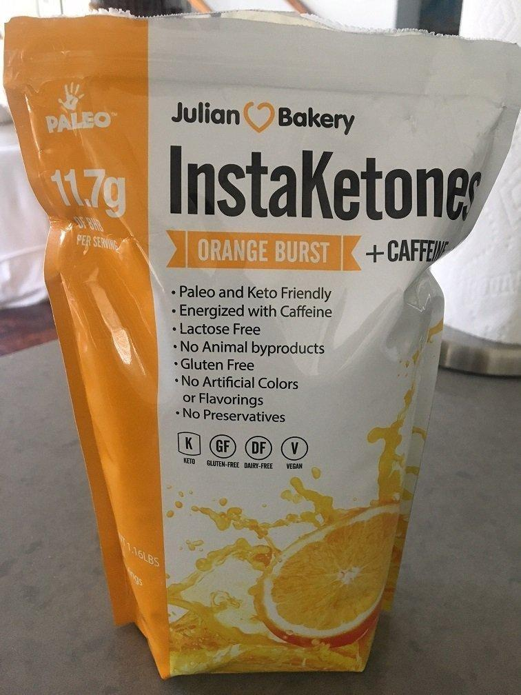 Julian Bakery Instaketones Orange Burst Flavor – Review & Results