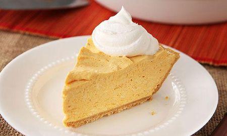 Easy No Bake Pumpkin Pie