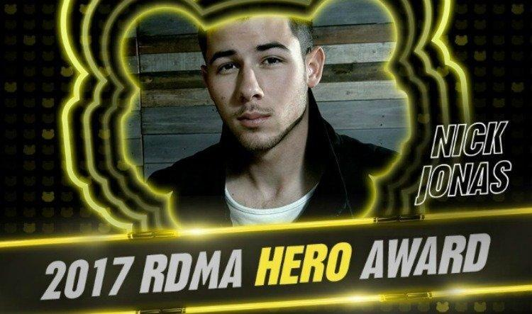 Nick Jonas To Be Honoured At The 2017 Radio Disney Music Awards