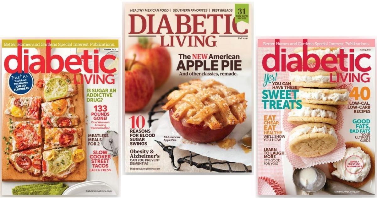 Free Diabetic Living Magazine Subscription