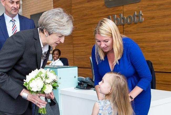 Theresa May Glucose Monitor