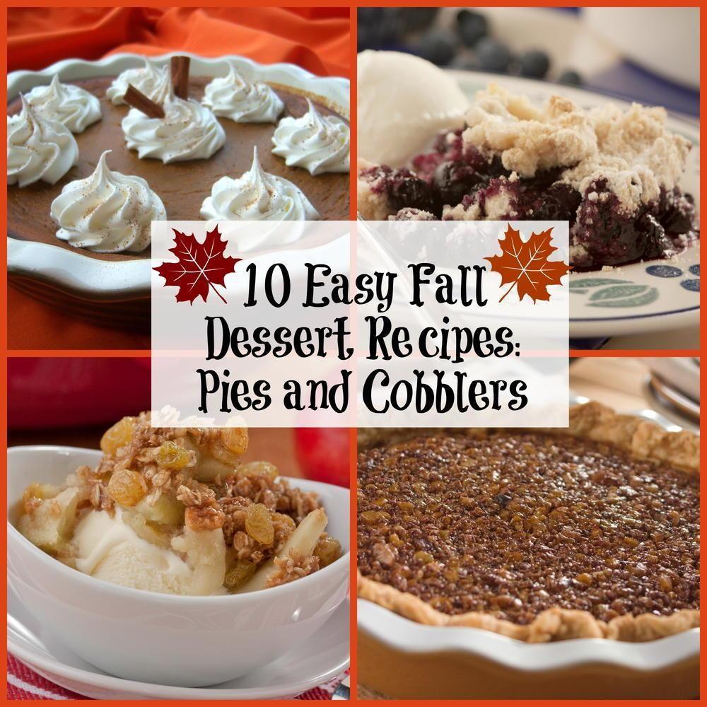 Diabetic Fall Desserts