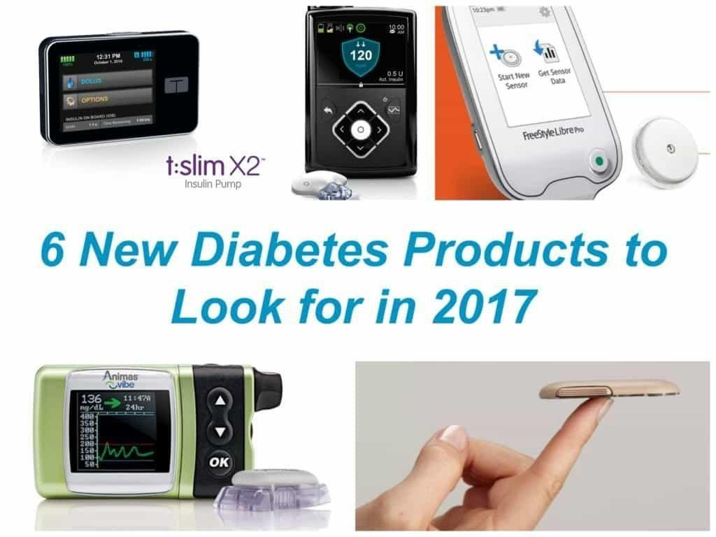 6 New Diabetes Products To Look For In 2017