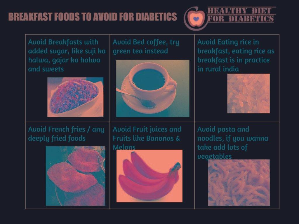 10 Foods Diabetics Shouldn't Eat For Breakfast
