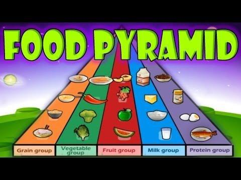 New Healthy Eating Guidelines & Food Pyramid