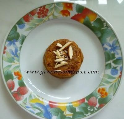Magaj For Diabetics (a Chick Pea Flour Sweet Suitable For Diabetics)