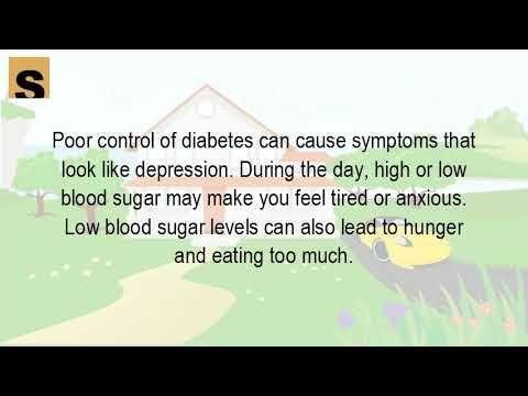 Do Diabetes Cause Depression