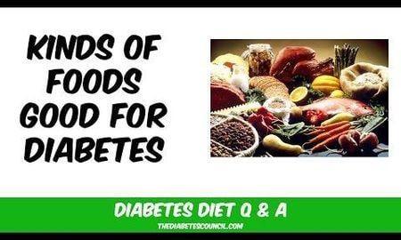 List Of Foods Good For Diabetics
