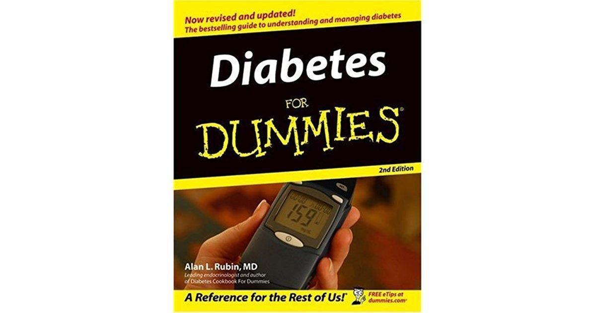 Diabetes For Dummies 4th Edition