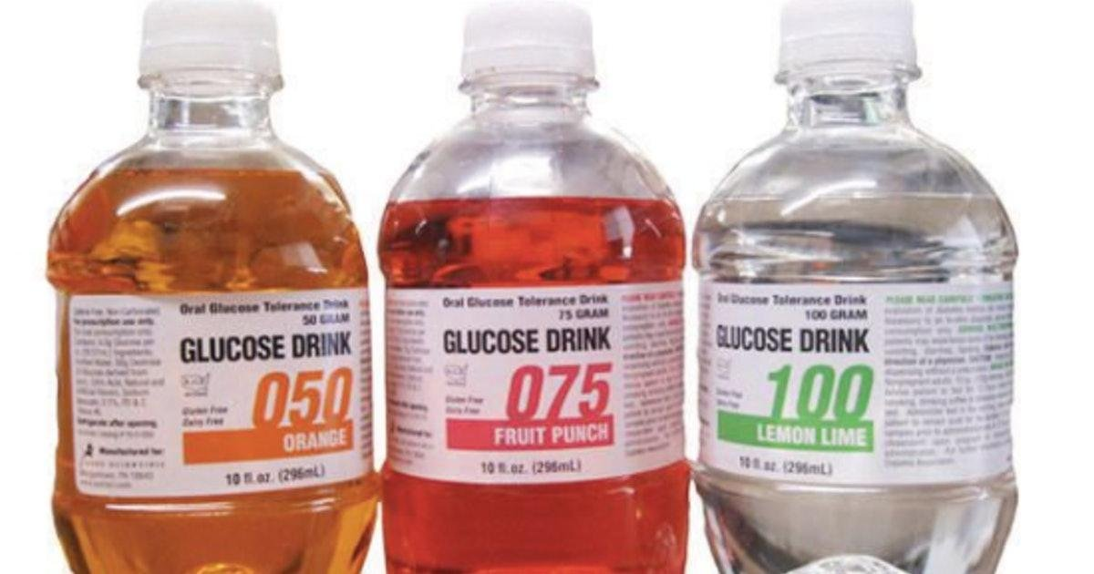 What's In The Glucose Drink? Here's What The Ingredients Look Like