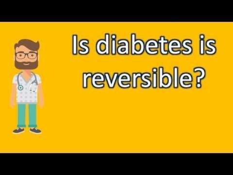 Is Blindness Due To Diabetes Reversible?