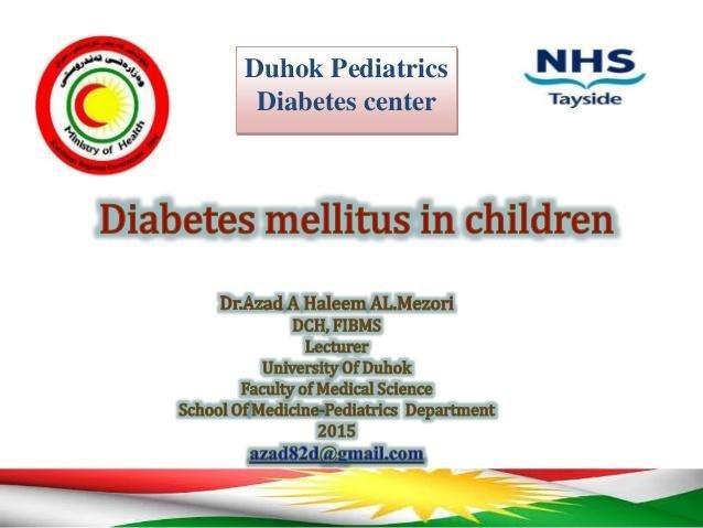 diabetes mellitus in children