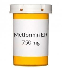 Metformin Er 750mg Tablets (generic Glucophage Xr)