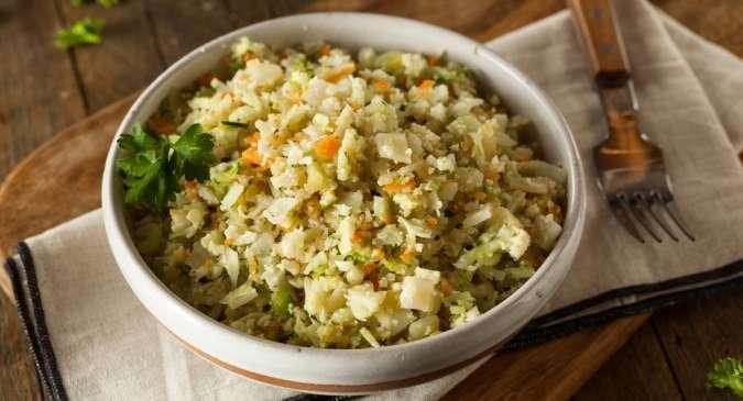 Healthy Recipe For Diabetics: Low Carbohydrate Cauliflower Rice Biryani