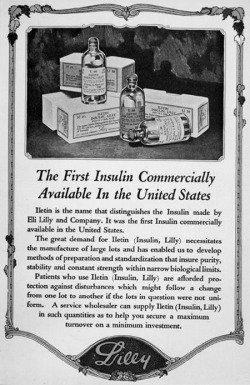 Eli Lilly Insulins