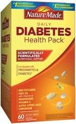 Nature Made Daily Diabetes Health Pack (60 Count)