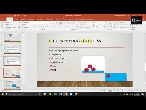 Diabetes Insipidus And Siadh Nclex Questions