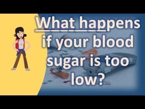 What Does It Mean When Your Blood Sugar Is Low?