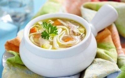 Diabetic Chicken Noodle Soup Recipe