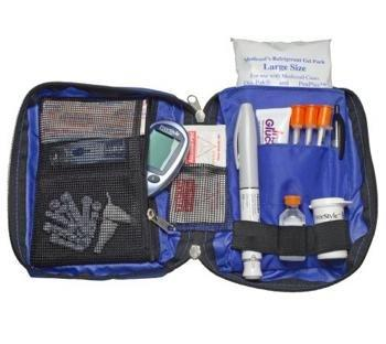 Dia-pak Classic Diabetes Travel Organizer Black Medicool Dpcbk- 1 Each