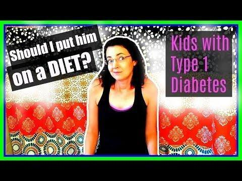 Type 1 Diabetes Diet For Child