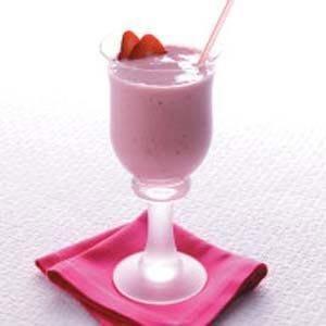 Diabetic Strawberry Smoothies