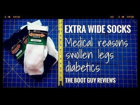 Diabetic Crew Socks - Rockport