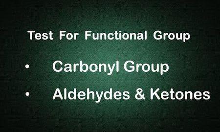 Ketone Functional Group