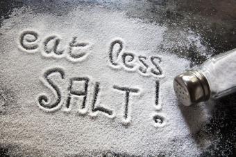 Cutting Down On Salt