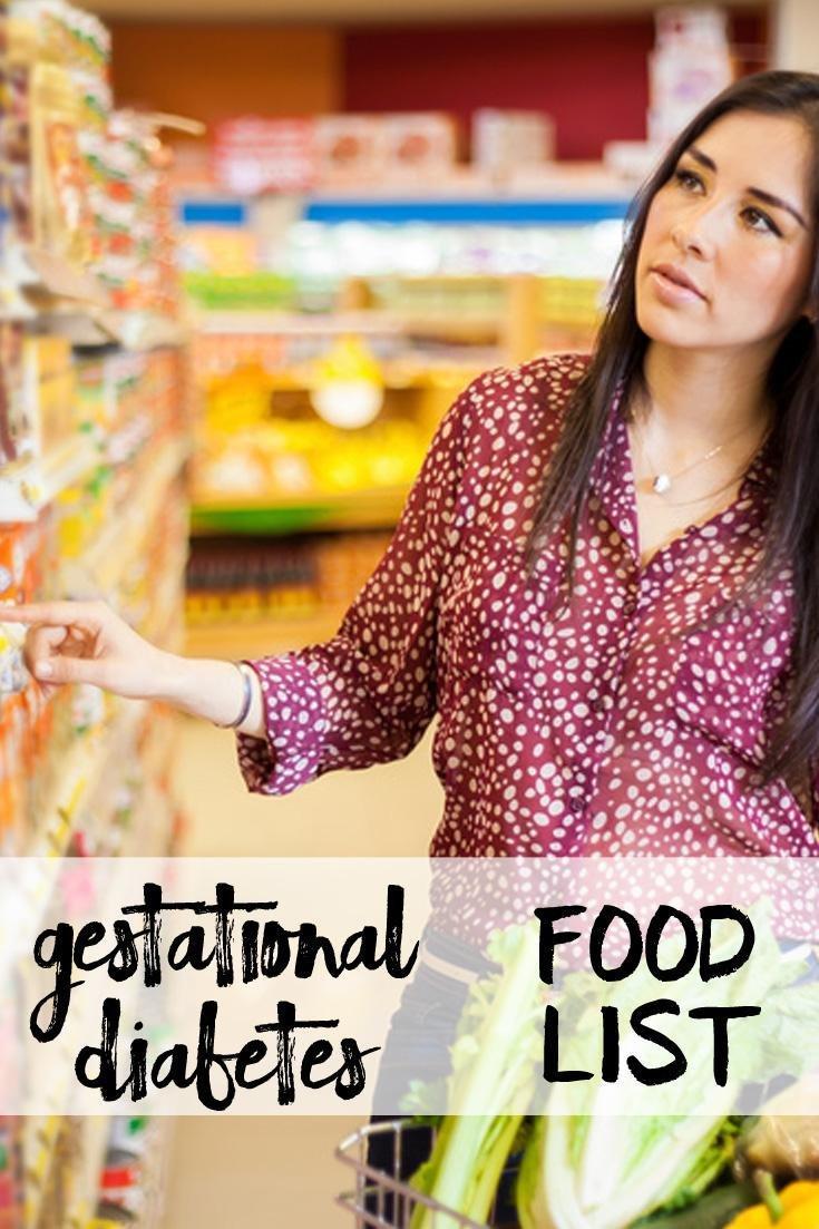 Gestational Diabetes Food List