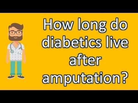 Diabetes Amputation Survival Rate