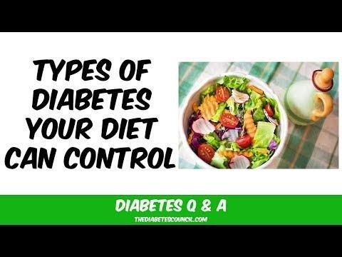 Can Diabetes Be Controlled With Diet?