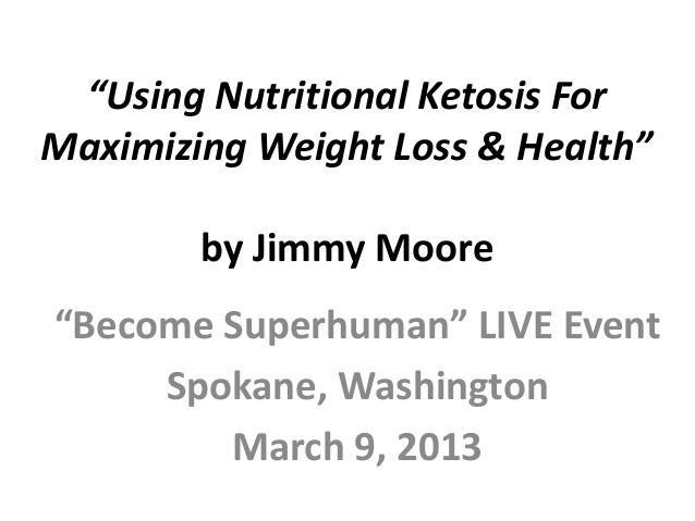 Jimmy Moore Shows You How To Do Nutritional Ketosis.