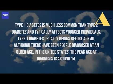 Age For Diabetes Type 1