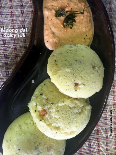 Moong Dal Spicy Idli | Low Carb Idli | Diabetic Recipes