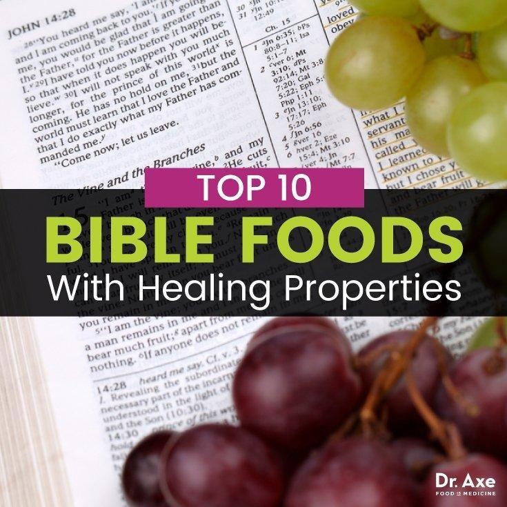 Top 10 Bible Foods That Heal + The Biblical Diet