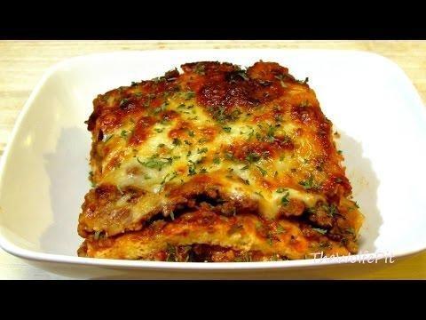 Diabetic Lasagna