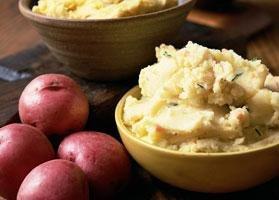 Easy Half-mashed Potatoes