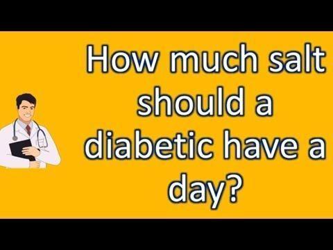 Is Salt Bad For A Diabetic?