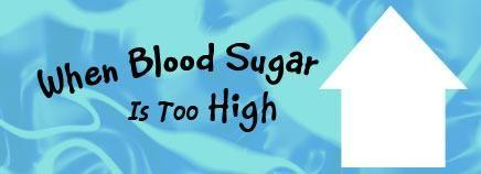 How High Is Too High For Blood Sugar