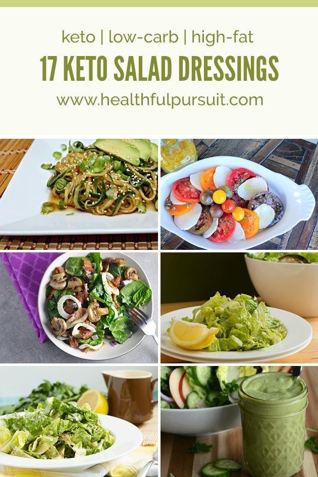 17 Keto Salad Dressings (keto, Low-carb + Paleo)