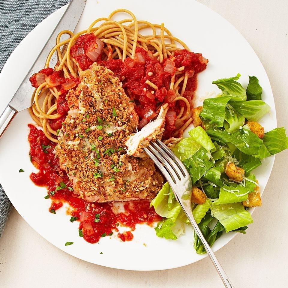 Quick Chicken Parmesan Recipe - Eatingwell