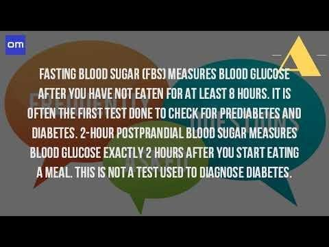What Is Blood Sugar Test Called