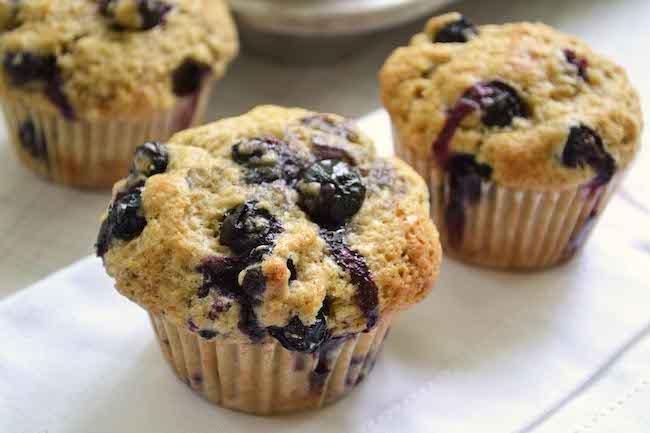 Everyday Fresh Blueberry Muffins