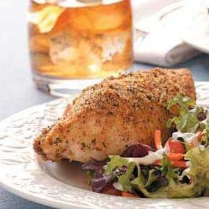 Parmesan Crust Chicken Recipe