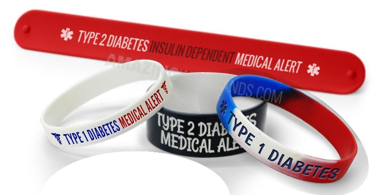 Free Type 1 Diabetes Bracelet