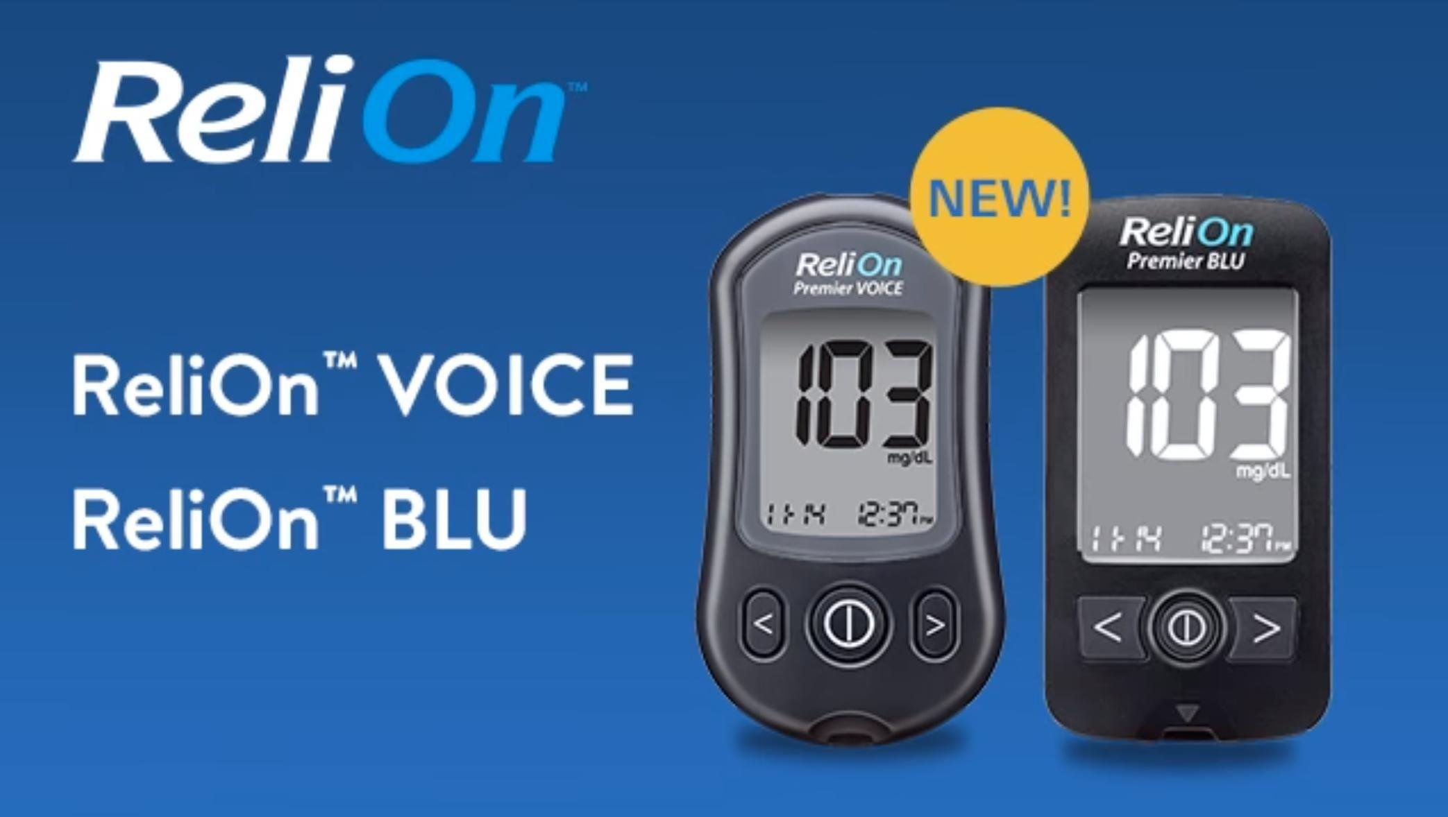 Blood Glucose Meter Review: Relion Premier Blu And Voice