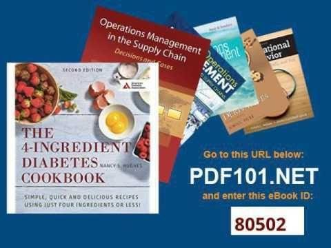 4 Ingredients Diabetes Cookbook